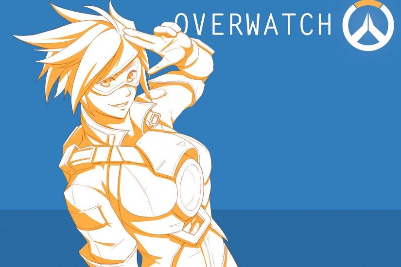 full size overwatch tracer wallpaper 2000x1414 4k