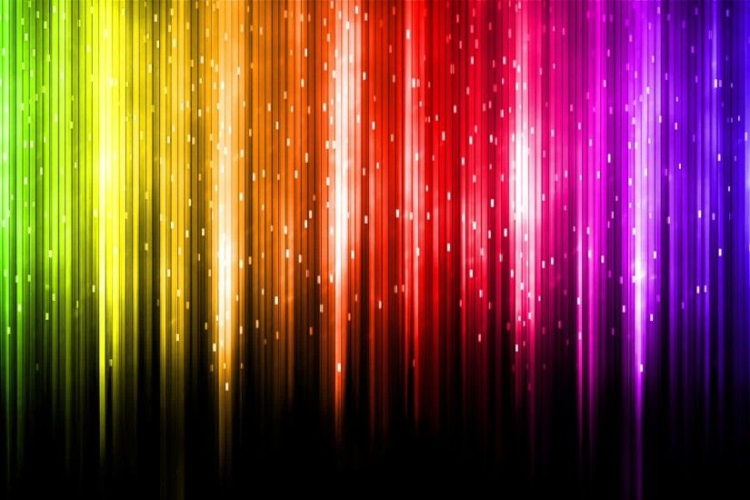 Cool Rainbow Colors Background