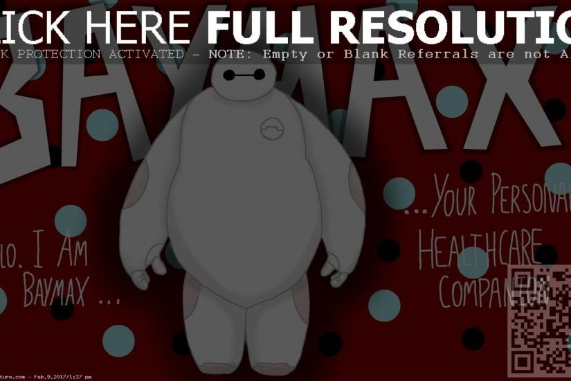 I am baymax wallpaper simple