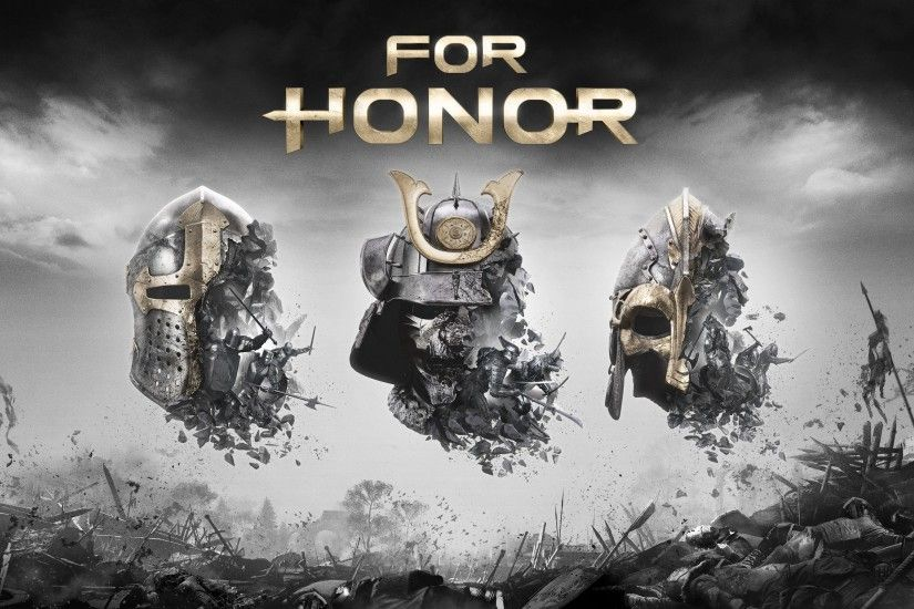 FOR HONOR ubisoft fantasy action fighting battle 1fhonor warrior artwork  viking knight samurai medieval poster wallpaper
