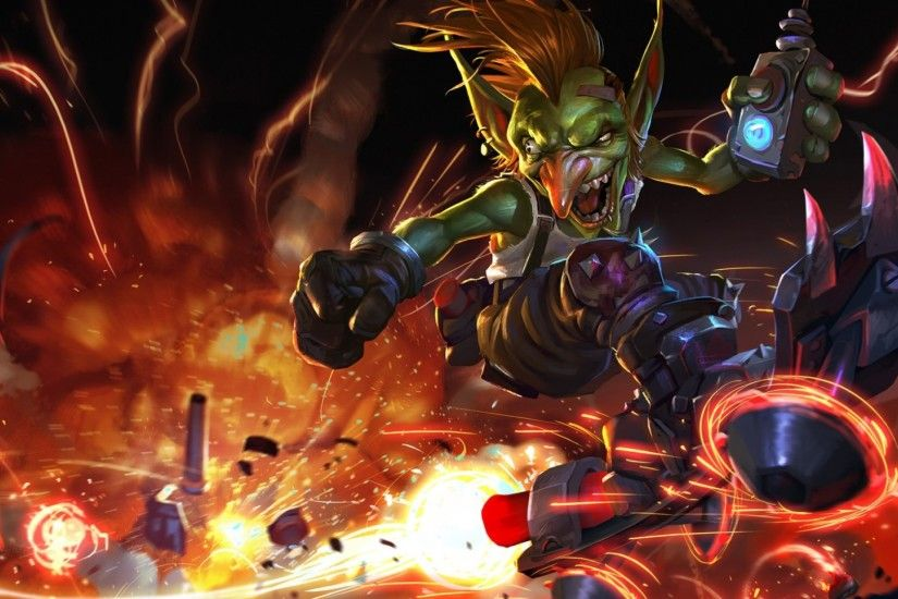 Preview wallpaper hearthstone, goblin vs gnomes, goblin 1920x1080
