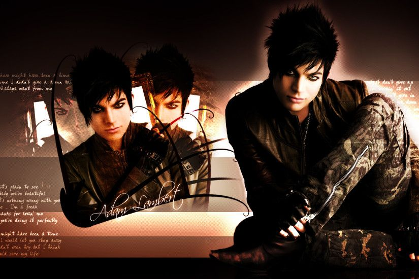 Adam Lambert Desktop Background