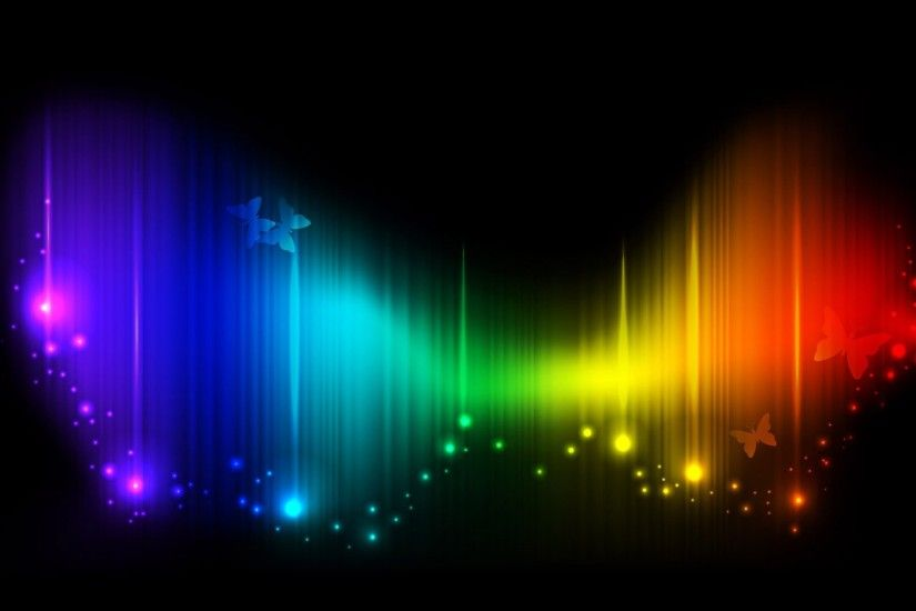 Abstract Backgrounds : The Colours of Rainbow - Rainbow Colors Abstract  Backgrounds 9