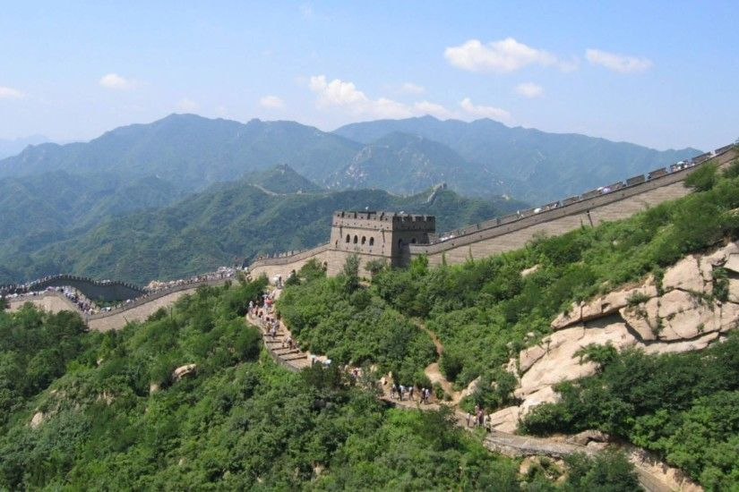 Great Wall of China Widescreen Wallpaper 14