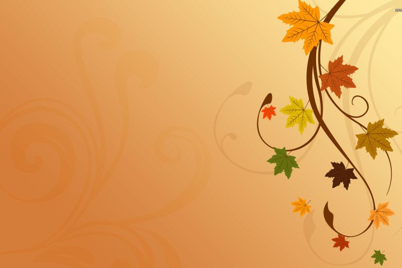 Autumn leaves on a branch Vector desktop wallpaper, Tree wallpaper, Leaf  wallpaper, Branch wallpaper, Autumn wallpaper - Vector no.
