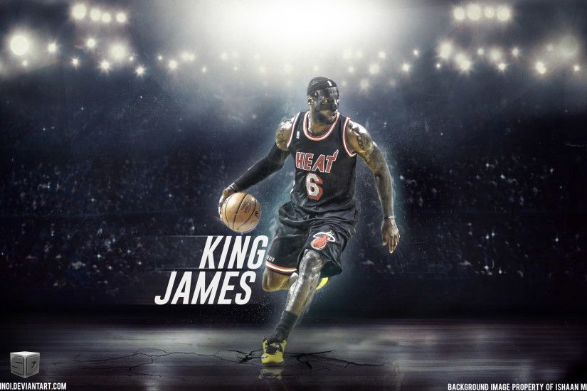 Lebron James Cavs Powder wallpaper wide