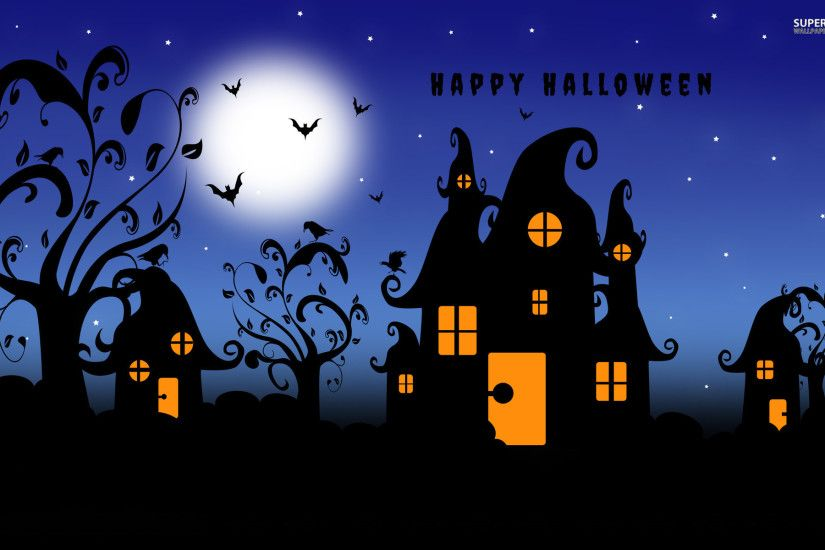 Happy Halloween Wallpapers Wide