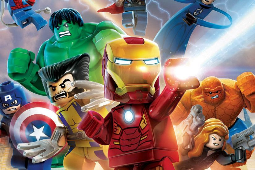 Download Marvel Super Heroes 2048 x 2048 Wallpapers - 4628508 - lego toys  characters super heroes marvel | mobile9