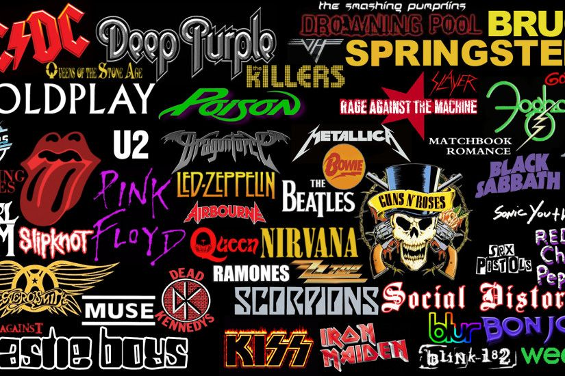 Music - Collage Rock (Music) Wallpaper