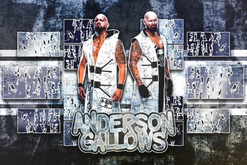 Anderson And Gallows Wallpaper (1080p) by DarkVoidPictures