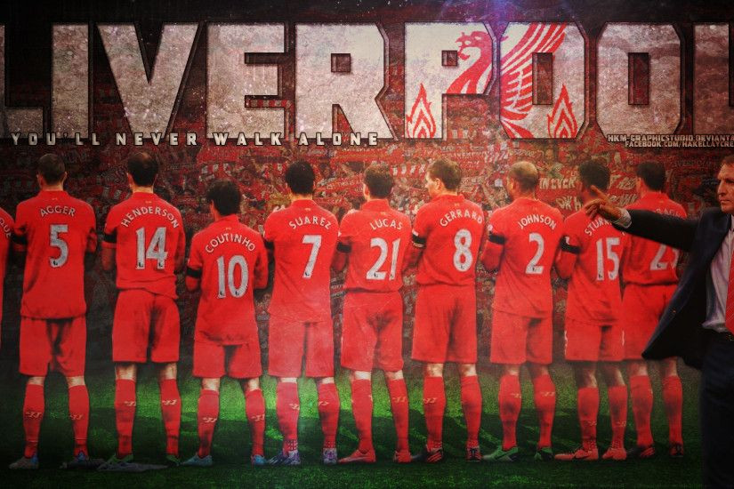 ... Liverpool 2014 HD Wallpaper by HkM-GraphicStudio