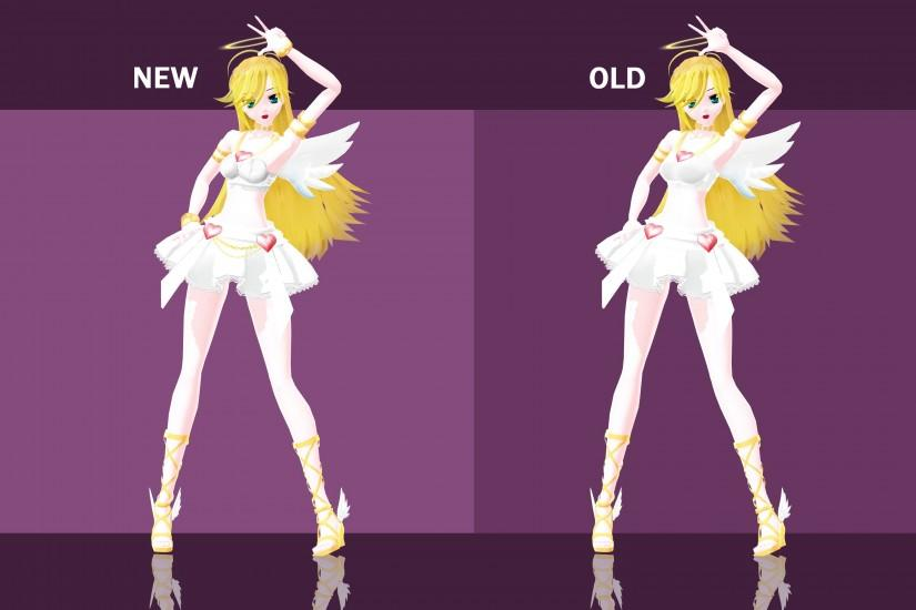 ... Angel Panty - Update Comparison by kinoko-hiou