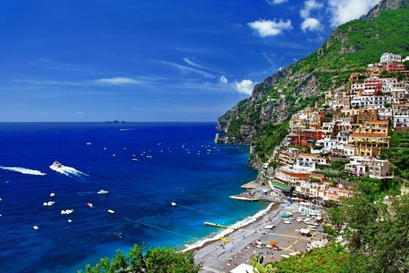 Positano Italy Wallpaper