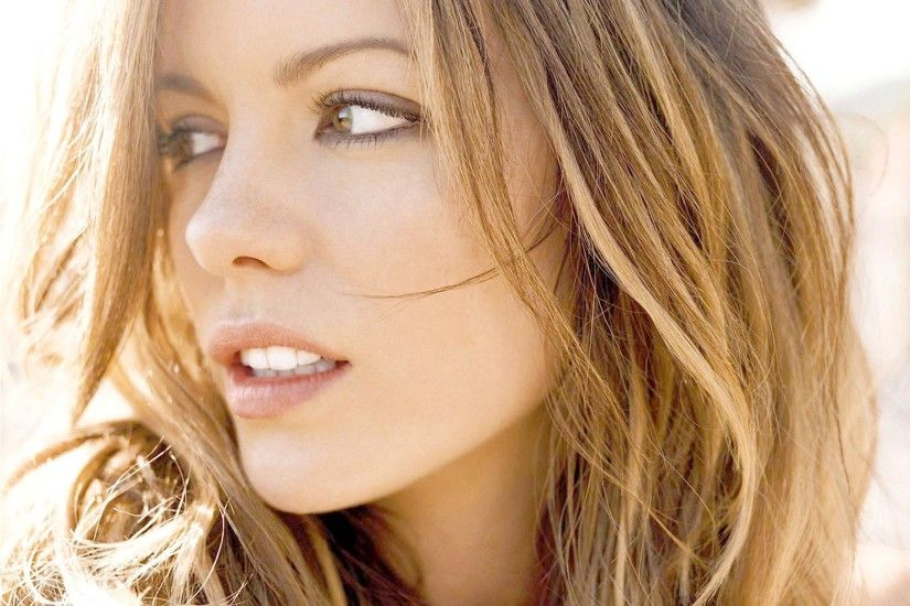 Bright Brunettes Close-up Kate Beckinsale Portraits Women ...
