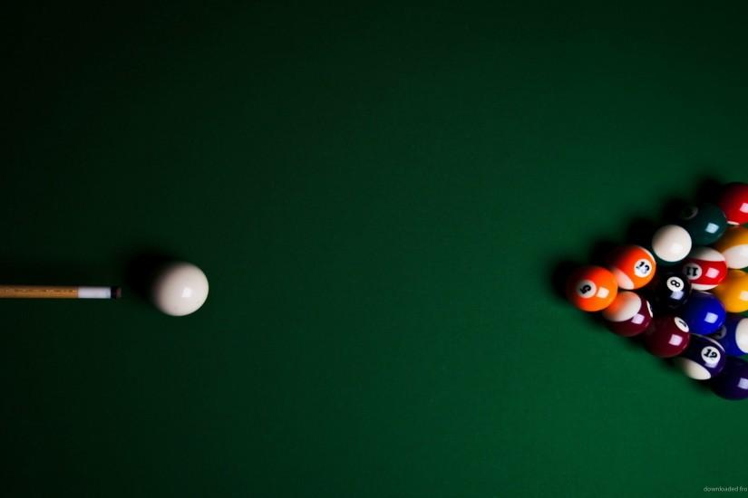 Billiards Pool Table Wallpaper Background picture