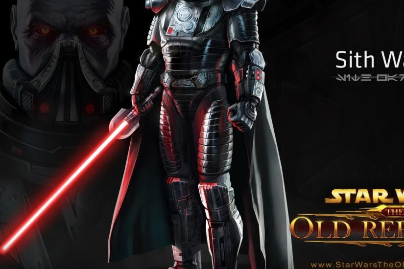Preview wallpaper star wars the old republic, sith warrior, character,  lightsaber 2048x2048