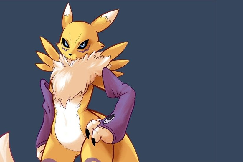 Renamon, Digimon, Furry Wallpaper HD