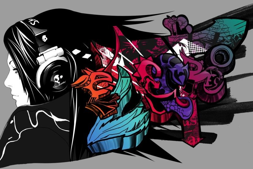 Graffiti Art Music Wallpaper High Definition