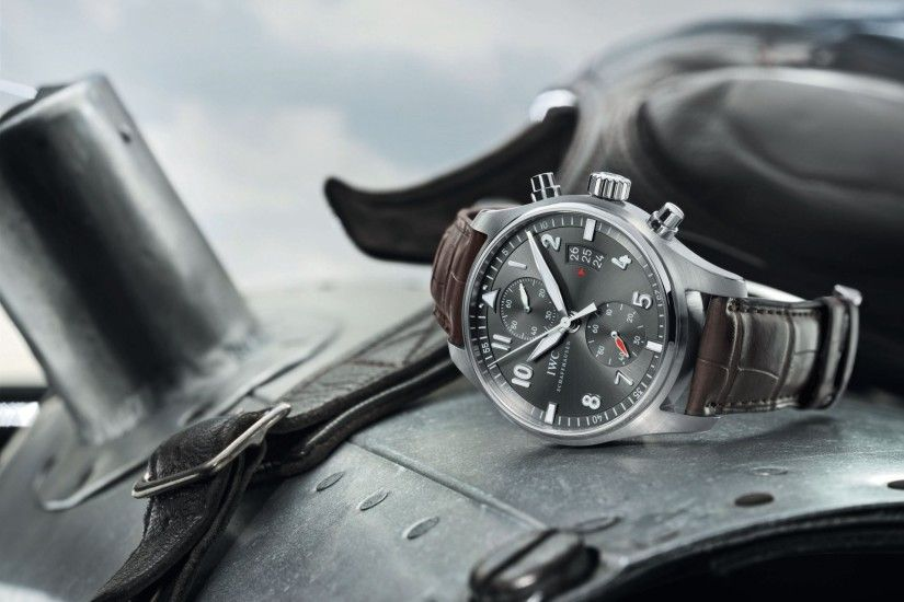 iwc spitfire chronograph plane helmet watches