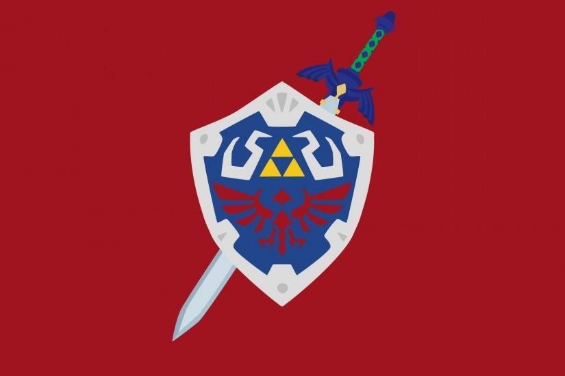 Hylian Shield and Master Sword by Krukmeister on DeviantArt