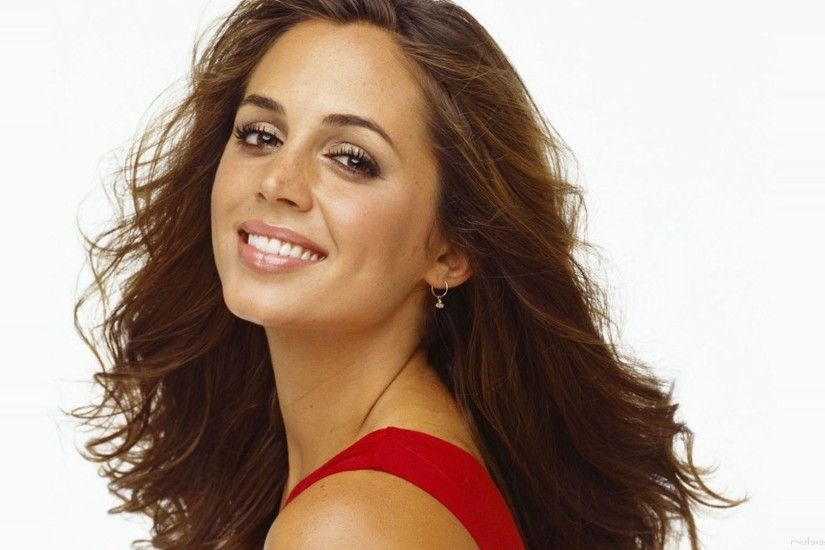 3840x2160 Wallpaper eliza dushku, smile, actress, girl, celebrity
