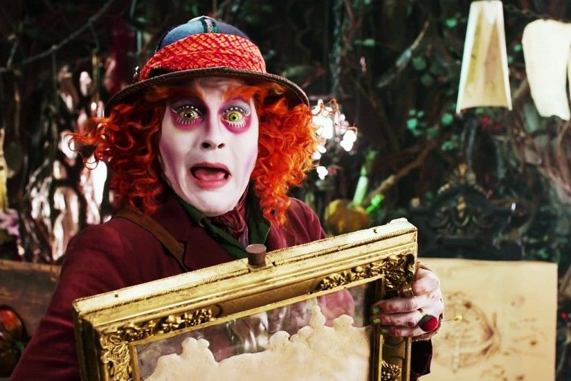 Johnny Depp Alice in Wonderland Through Looking Glass