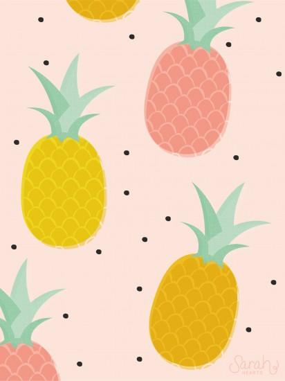 pineapple wallpaper 1536x2049 for iphone 6