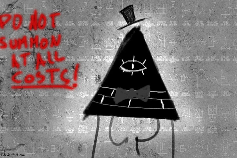 Bill Cipher wallpaper by Sparxyz Bill Cipher wallpaper by Sparxyz