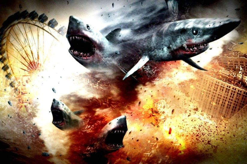 Sharknado wallpaper - photo#5