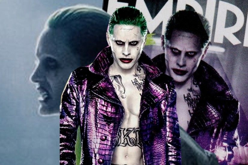 FIRST LOOK at Jared Leto's Joker!!! (EMPIRE MAGAZINE ISSUE COVER) - YouTube