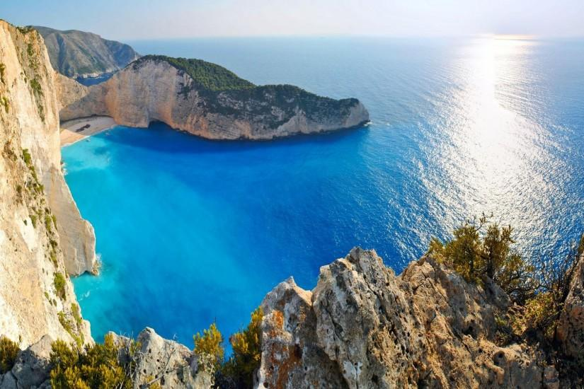 Greece HD Amazing Greek Beach Free Wallpaper #7836 | HD Wallpaper & 3D .