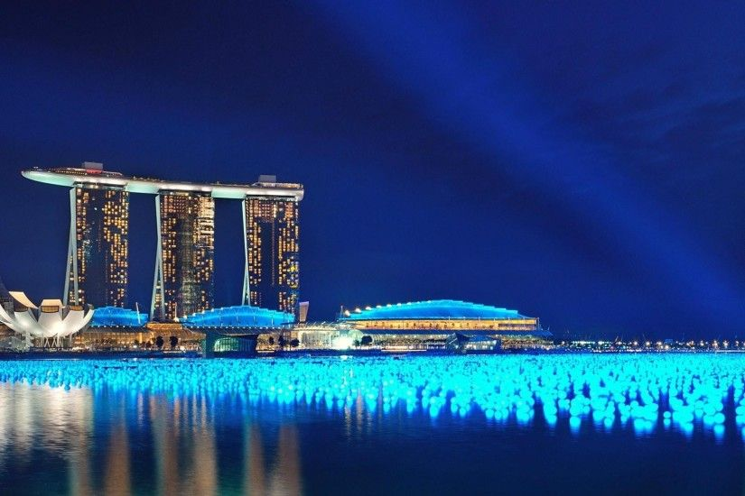 Man Made - Marina Bay Sands Wallpaper