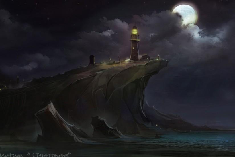 Artistic - Lighthouse Wallpaper