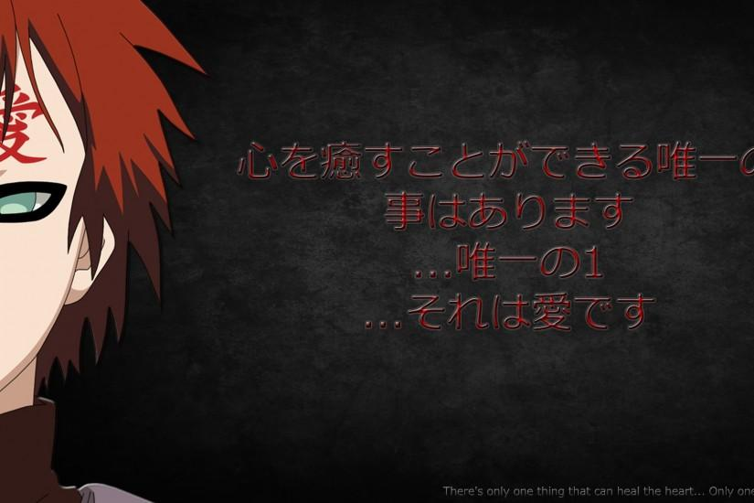 ... Gaara Wallpaper Love Quote by Acheaos by Acheaos