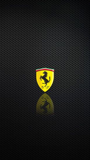 Ferrari Logo Mobile HD Wallpaper