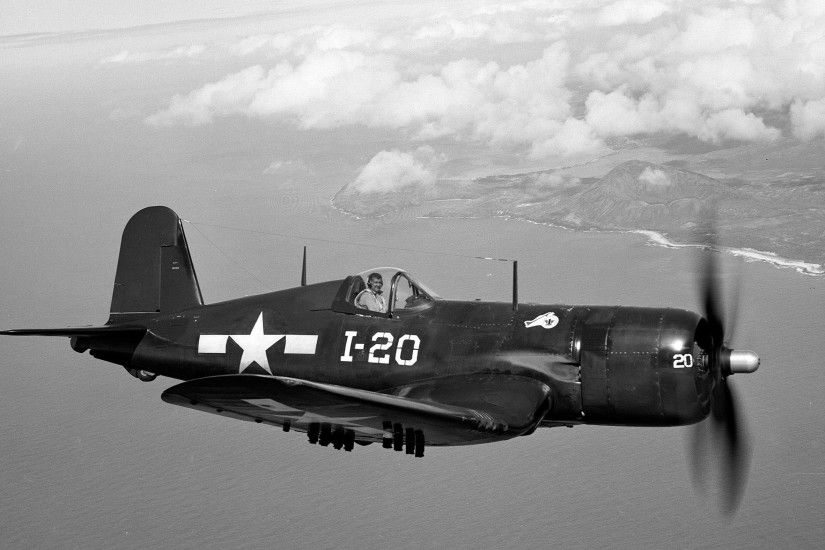 Military - Vought F4U Corsair Wallpaper