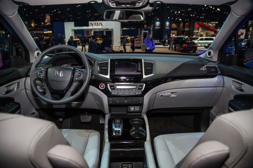 2016 honda pilot Interior Dashboard Wide HD Wallpaper