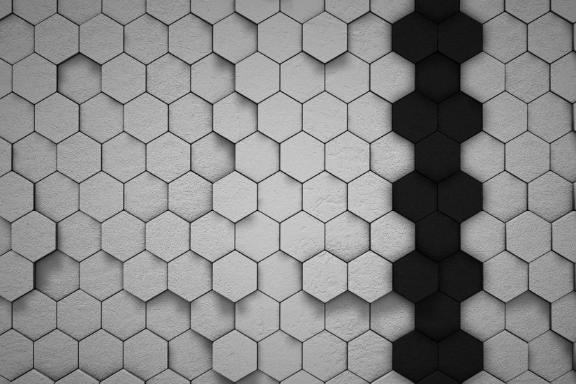 ... Linear hexagon pattern background - Vector download ...