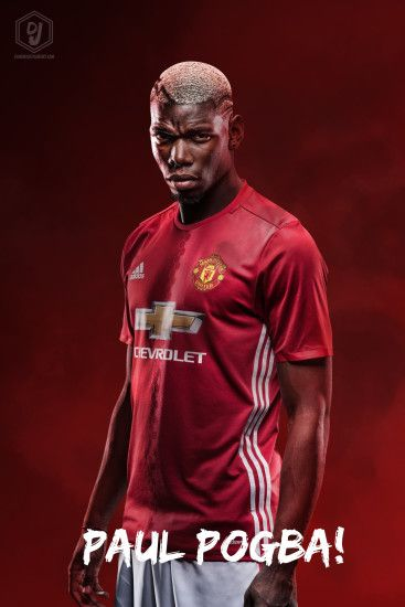 jinbaelim 5 1 Paul Pogba Manchester United 2016/17 Wallpaper by dianjay