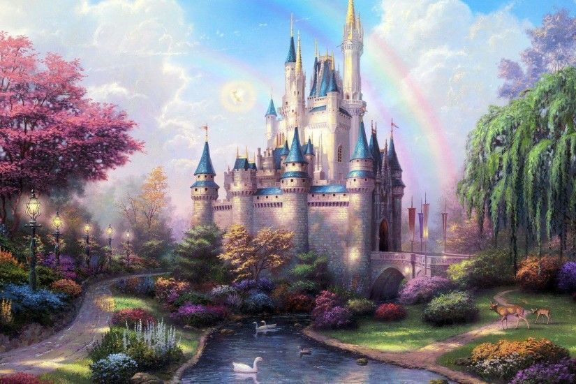 Fairytale Castle Cartoon Wallpaper Picture #1487 Wallpaper | High .