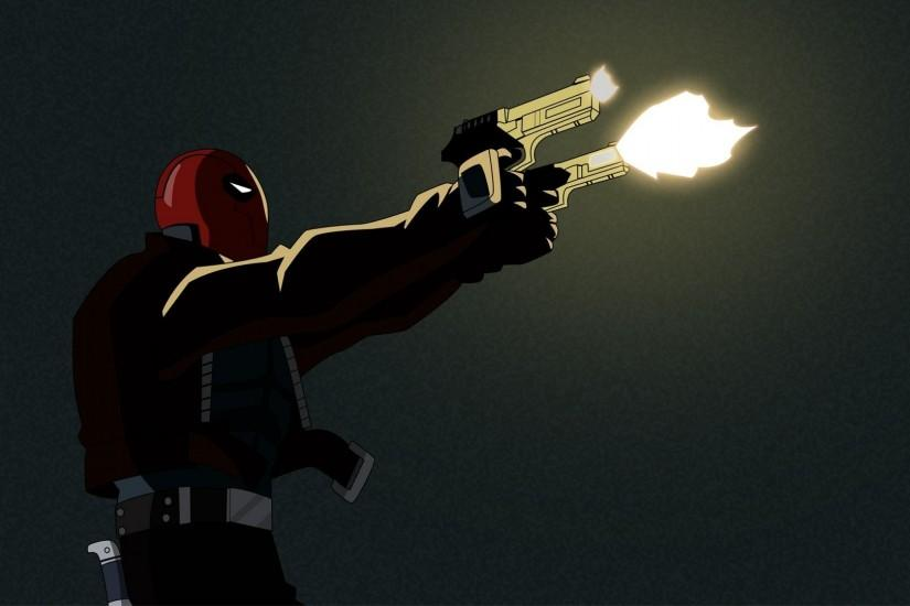 Guns Red Hood wallpaper | 1920x1080 | 303496 | WallpaperUP