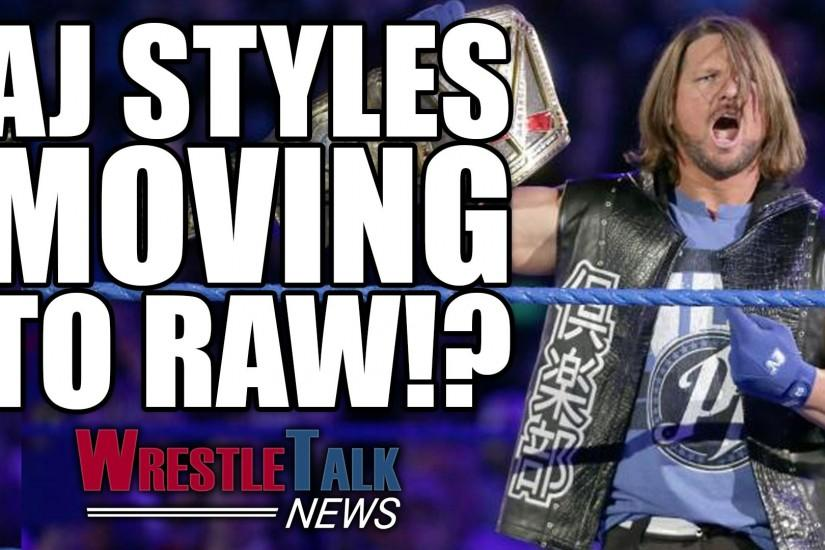 AJ Styles moving to WWE RAW!? McMahon joins Donald Trump's administration.
