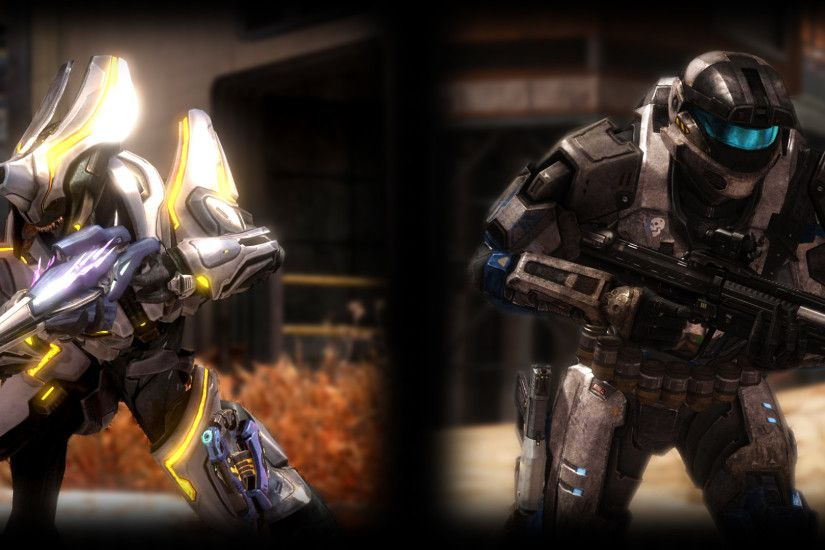 halo reach wallpaper by spherephoenix1990 customization wallpaper .