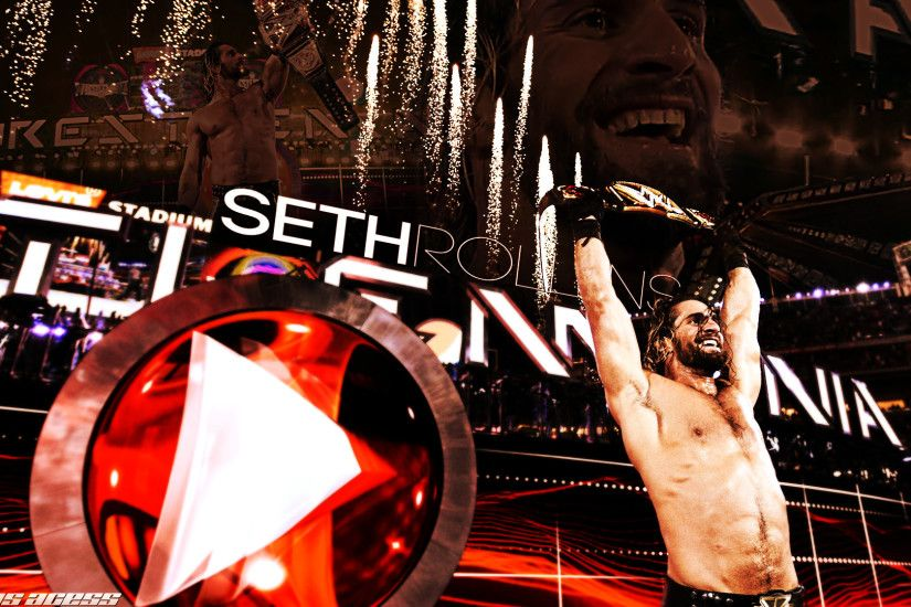 WWE Champion Seth Rollins Wallpaper HD Pictures