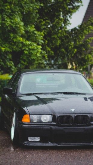 BMW E36 M3 Black iPhone 6 Plus - Wallpaper - HD Wallpapers