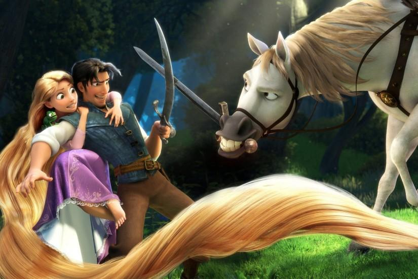Rapunzel & Flynn in Tangled Wallpapers | HD Wallpapers