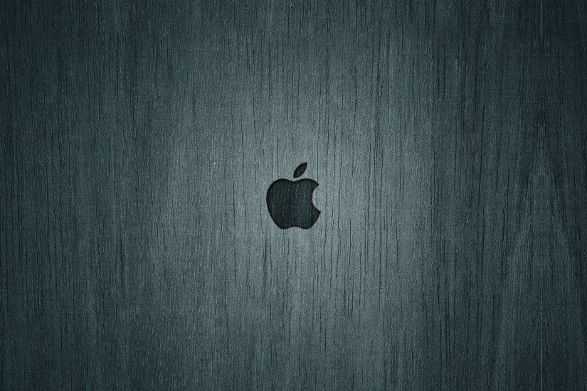 Apple Dark Wood HD Wallpaper. « »