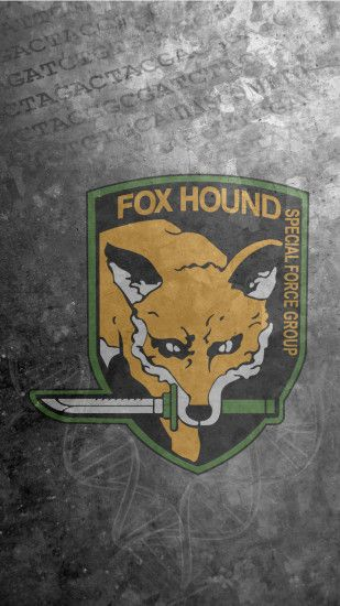 Fox Hound Wallpaper (MIC) ...