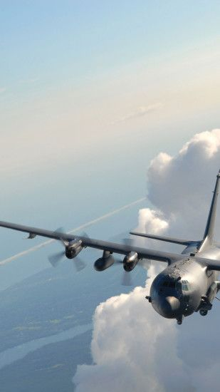 ac 130, Airplane, Military Aircraft, Aircraft, Airliner Wallpaper in  1440x2560 Resolution