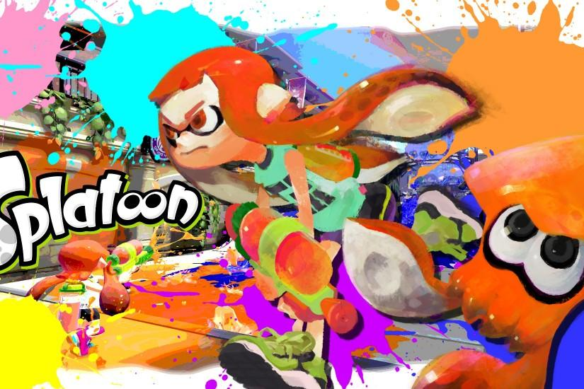 splatoon wallpaper 2000x1100 high resolution